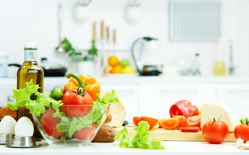 Gesundes Essen auf Mauritius